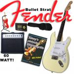 Fender Squier Bullet Strat - Rock Trainings Set Rand
